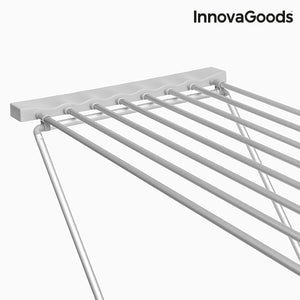 InnovaGoods Grey Foldable Electric Clothes Horse 120W (8 Bars)