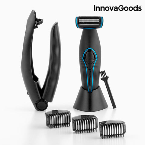 InnovaGoods Men's Body Depilator with Extendable Handle-Universal Store London™