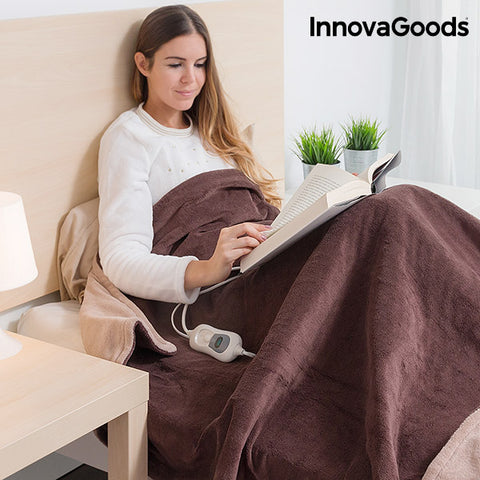 InnovaGoods 160 x 120 cm Electric Fleece Blanket-Universal Store London™
