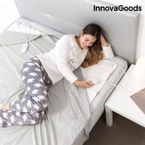 InnovaGoods Double Electric Blanket 140 x 160 cm-Universal Store London™