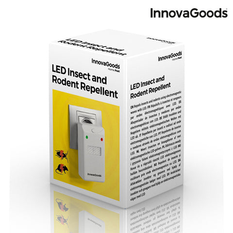 InnovaGoods LED Insect and Rodent Repellent-Universal Store London™