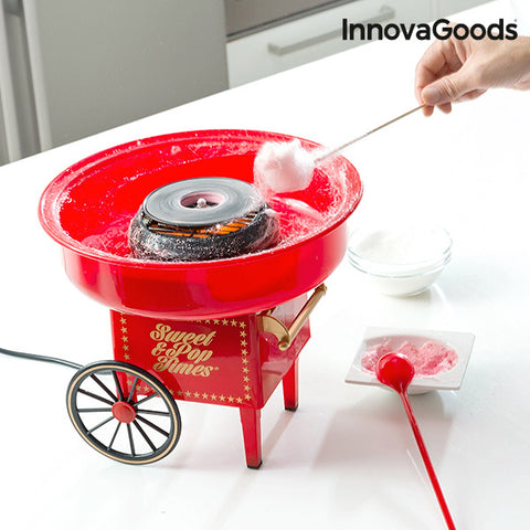InnovaGoods Candy Floss Machine 500W Red-Universal Store London™