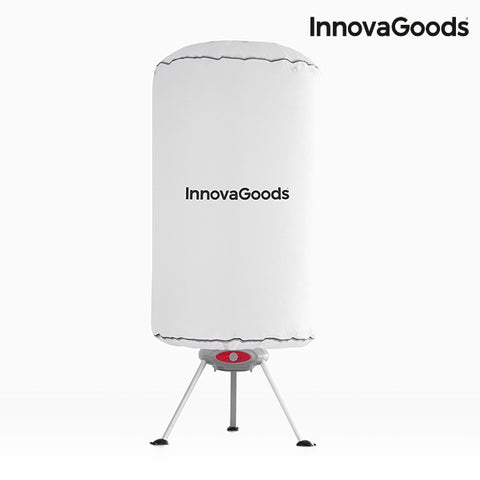 Image of InnovaGoods Portable Clothes Dryer 1000W White-Universal Store London™