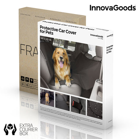 Image of InnovaGoods Protective Car Mat for Pets-Universal Store London™