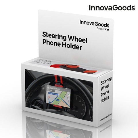 InnovaGoods Steering Wheels Phone Holder-Universal Store London™