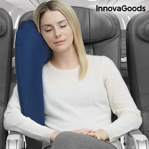 Image of InnovaGoods Inflatable Travel Pillow with Seat Attachment-Universal Store London™