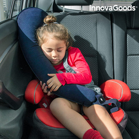 Image of InnovaGoods Adjustable Travel Pillow with Seat Attachment-Universal Store London™