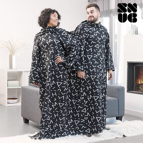 Image of Snug Snug Big Twin Double Symbols Snuggie-Universal Store London™