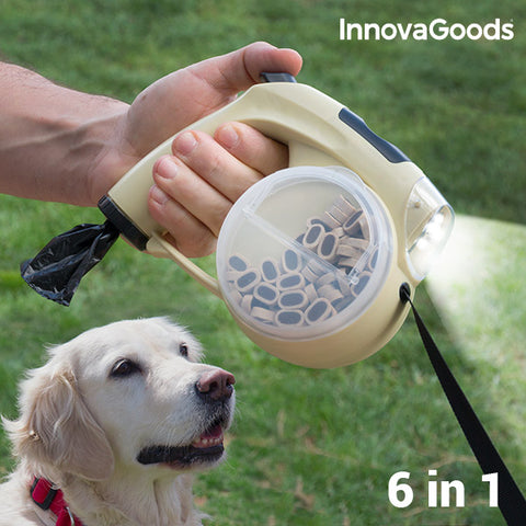 Image of InnovaGoods 6 in 1 Retractable Dog Leash-Universal Store London™