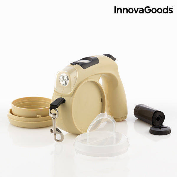 InnovaGoods 6 in 1 Retractable Dog Leash-Universal Store London™