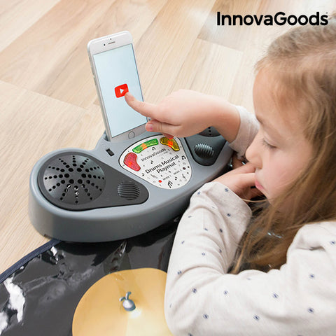 InnovaGoods Drum Musical Playmat-Universal Store London™