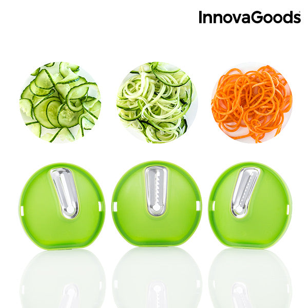 InnovaGoods Spiral Slicer 3 in 1-Universal Store London™