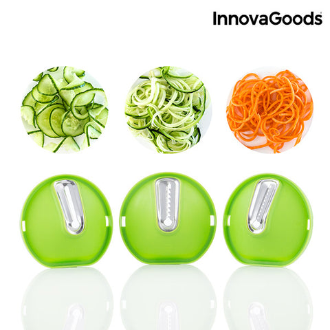 Image of InnovaGoods Spiral Slicer 3 in 1-Universal Store London™
