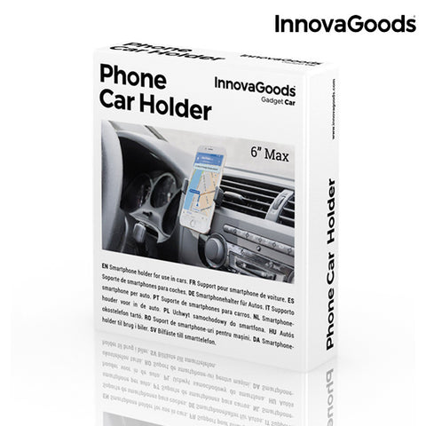 Image of InnovaGoods Phone Holder for Cars-Universal Store London™