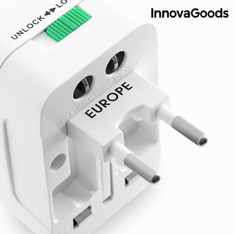 InnovaGoods Universal Travel Adapter-Universal Store London™