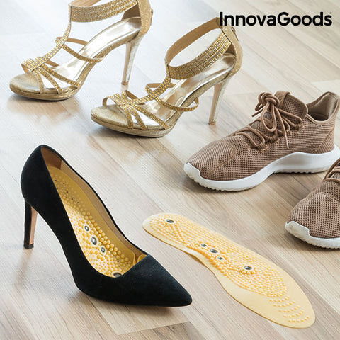 Image of InnovaGoods Magnetic and Cuttable Acupression Insoles-Universal Store London™