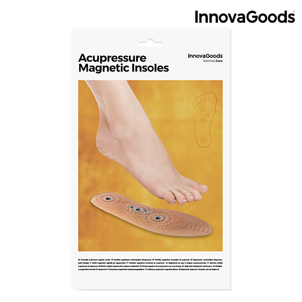 InnovaGoods Magnetic and Cuttable Acupression Insoles-Universal Store London™