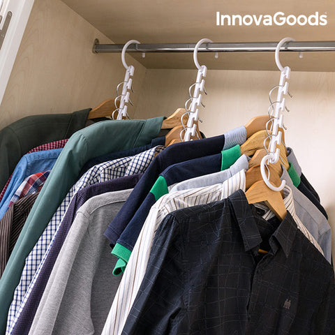 InnovaGoods Clothes Organiser for 40 Items  (24 Pieces)