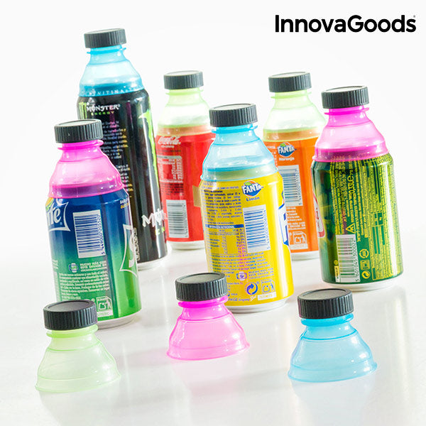 InnovaGoods Can Bottle Tops (Pack of 10)-Universal Store London™