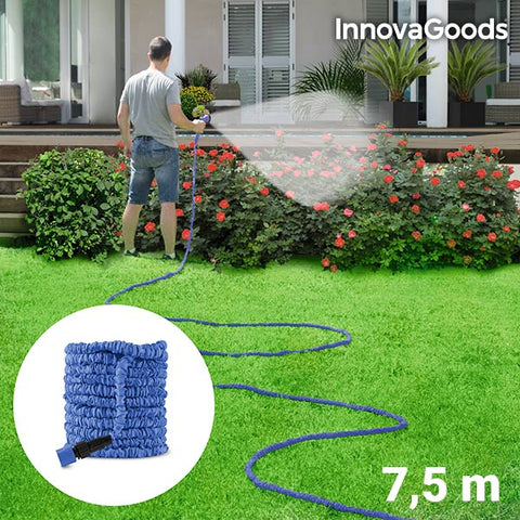 Image of InnovaGoods Expandable Hose 7.5 m-Universal Store London™