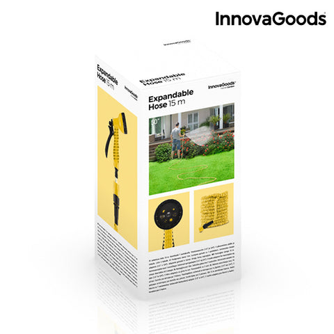 Image of InnovaGoods Extendible Hose 15 m-Universal Store London™