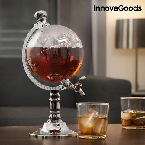 Image of InnovaGoods Globe Drinks Dispenser-Universal Store London™