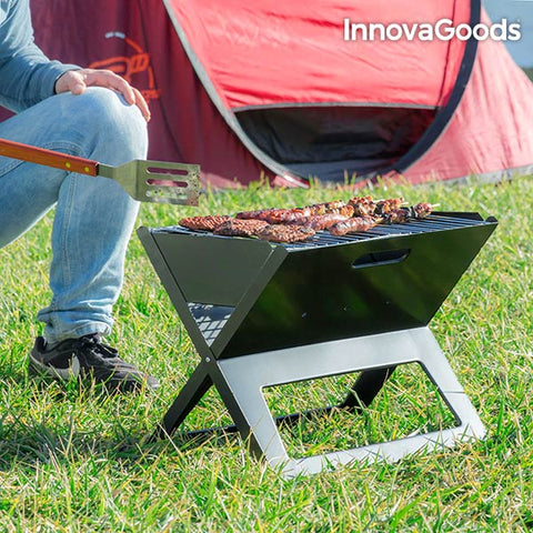 InnovaGoods Portable and Folding Charcoal Barbecue-Universal Store London™