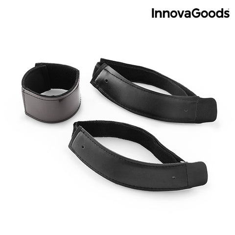 InnovaGoods Magnetic Wristband and Knee Pads (3 Pieces)-Universal Store London™