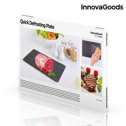 InnovaGoods Quick Defrosting Plate-Universal Store London™