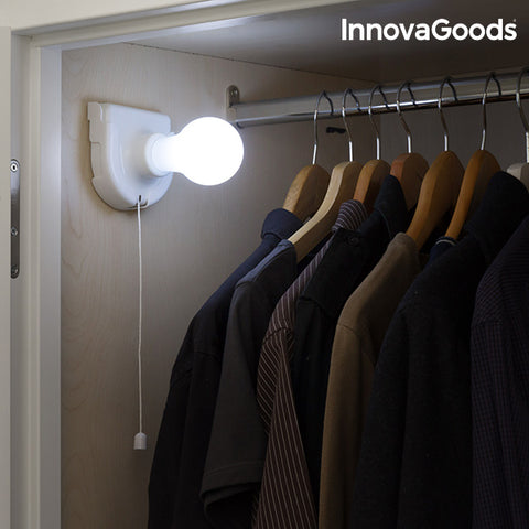 InnovaGoods Portable LED Light Bulb-Universal Store London™
