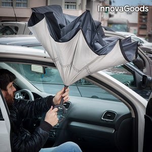 InnovaGoods Reverse Folding Umbrella-Universal Store London™