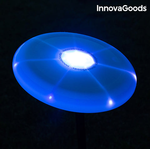 InnovaGoods Multicoloured LED Frisbee-Universal Store London™