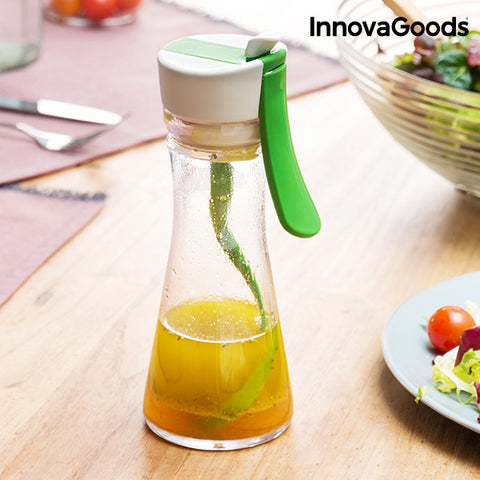 InnovaGoods Vinaigrette Mixer with Recipe Book-Universal Store London™