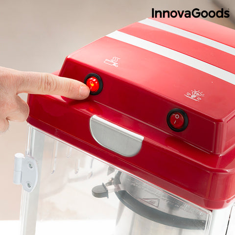 InnovaGoods Popcorn Maker Tasty Pop Times 310W Red-Universal Store London™