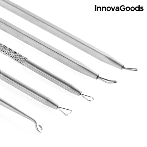InnovaGoods Blackheads Remover Set (6 Pieces)-Universal Store London™