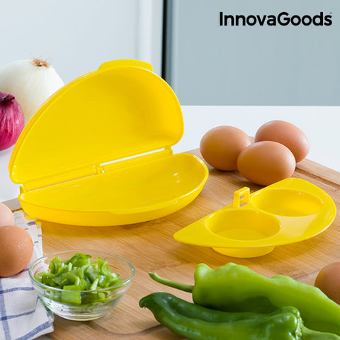 Image of InnovaGoods Microwave Omelette & Egg Maker-Universal Store London™