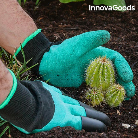 Image of InnovaGoods Gardening Gloves with Claws-Universal Store London™