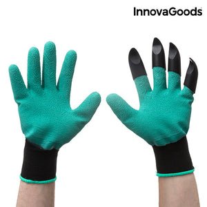 InnovaGoods Gardening Gloves with Claws-Universal Store London™