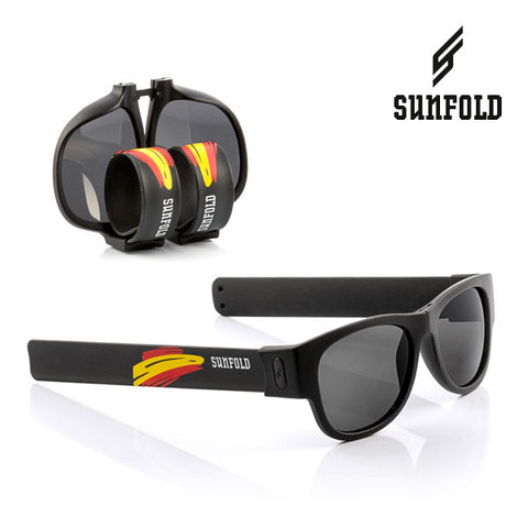 Black Sunfold Spain World Cup Roll-Up Sunglasses-Universal Store London™