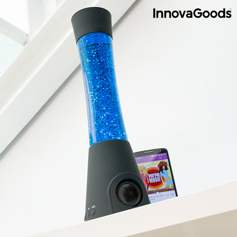 InnovaGoods Flow Lamp Glitter Lamp with Speaker 30W-Universal Store London™