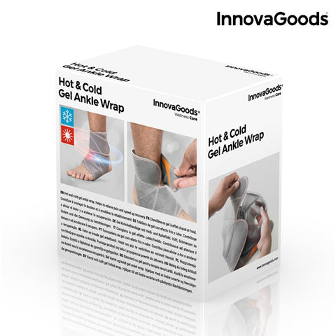 InnovaGoods Hot & Cold Gel Ankle Wrap-Universal Store London™