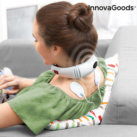 InnovaGoods Electromagnetic Neck and Back Massager-Universal Store London™