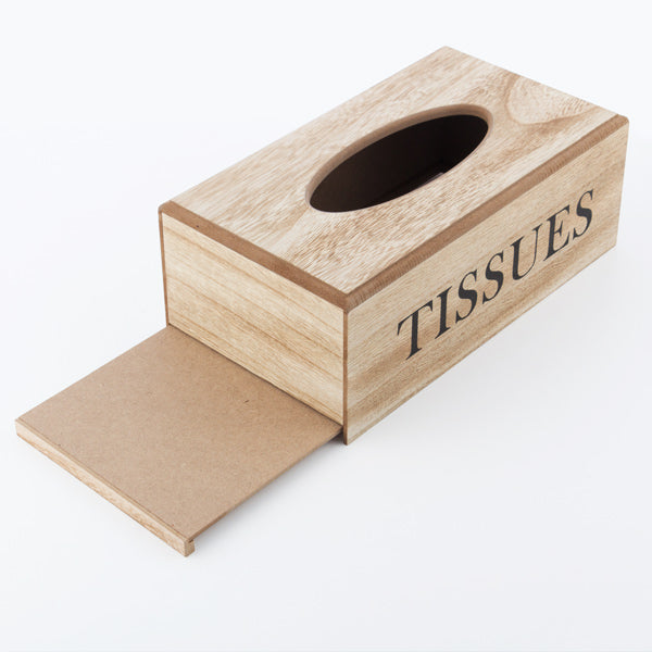 Wooden Tissue Box-Universal Store London™