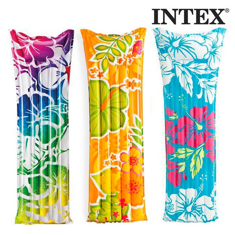 Image of Flowers Airbed Intex-Universal Store London™