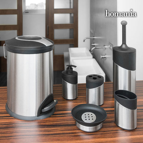 Image of Inox Homania Bathroom Accessories (6 pieces)-Universal Store London™