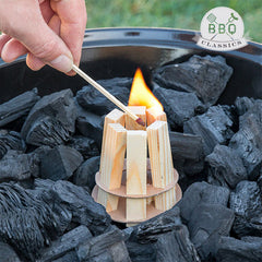 BBQ Classics Wood Fire Starter for Barbecues-Universal Store London™