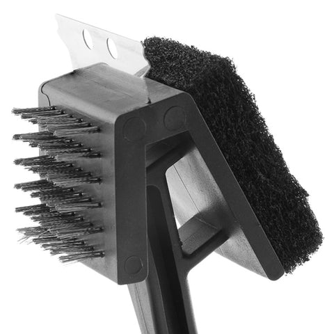 Image of BBQ Classics 3 in 1 Barbecue Cleaning Brush-Universal Store London™