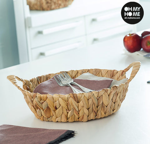 Oh My Home Round Corn Sheaf Basket-Universal Store London™