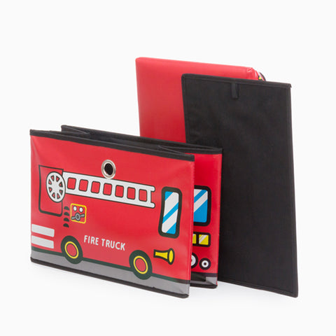 Image of Bus Junior Knows Fold-up Toy box-Universal Store London™