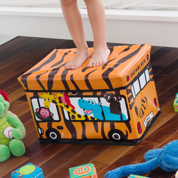 Bus Junior Knows Fold-up Toy box-Universal Store London™